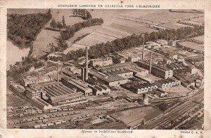 L'usine du Carbone Lorraine