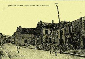 Pagny-sur-Moselle pendant la guerre 14-18