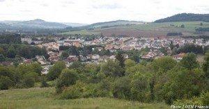 Côte de Pagny - Vue sur le bourg